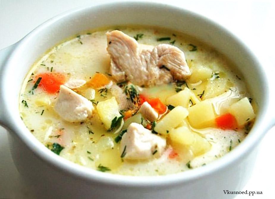 суп сырный фш