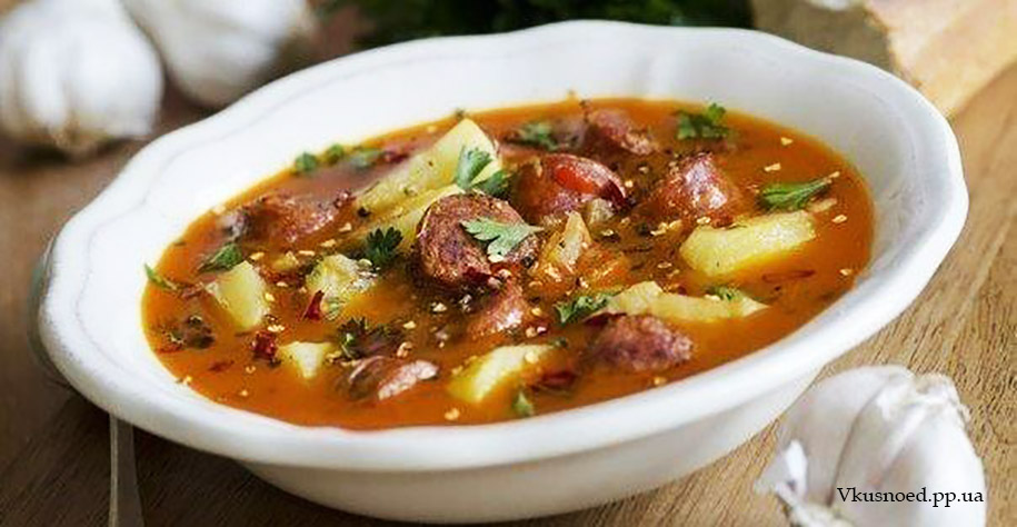 испанский суп фш