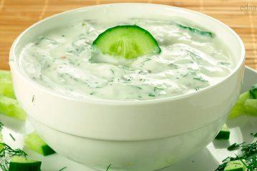 """Греческий салат-соус """"Дзадзики"""""""