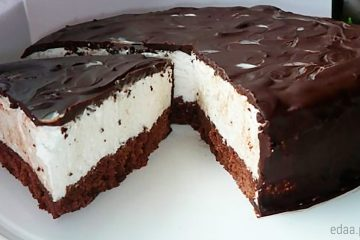 """Быстрый торт - """"Птичье молоко"""""""
