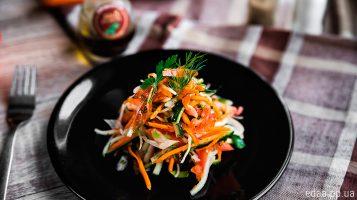 Легкий и полезный салат