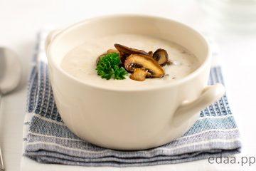 Грибной крем суп ПП