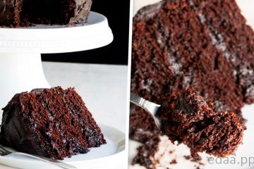 Удивительный шоколадный торт