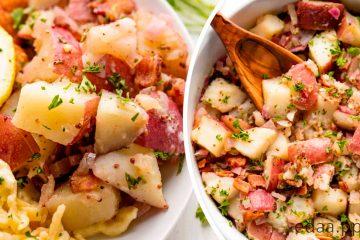 Старонемецкий картофельный салат