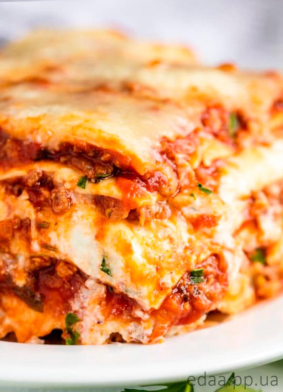 Домашняя лазанья по-итальянски удивительный рецепт